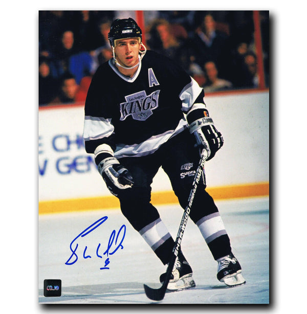 Bernie Nicholls Los Angeles Kings Autographed 8x10 Photo Autographed Hockey 8x10 Photos CoJo Sport Collectables