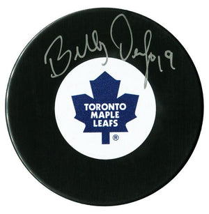 Bill Derlago Autographed Toronto Maple Leafs Puck - CoJo Sport Collectables Inc.