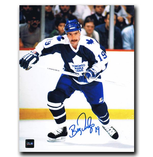 Bill Derlago Toronto Maple Leafs Autographed 8x10 Photo Autographed Hockey 8x10 Photos CoJo Sport Collectables