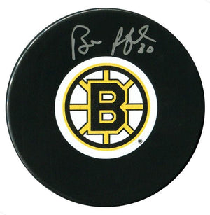 Bill Ranford Autographed Boston Bruins Puck Autographed Hockey Pucks CoJo Sport Collectables