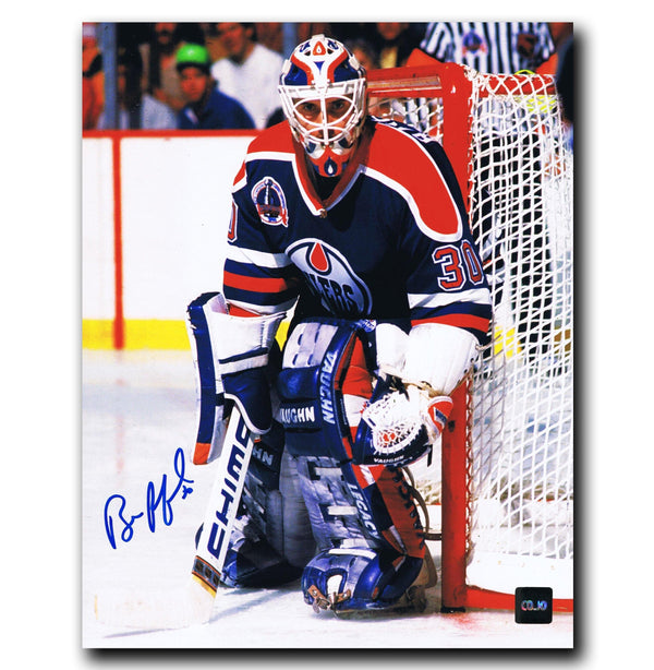 Bill Ranford Edmonton Oilers Autographed 8x10 Photo - CoJo Sport Collectables Inc.