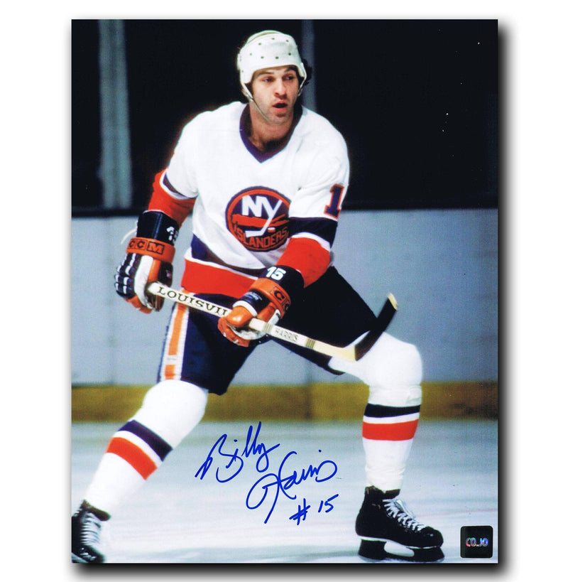 Billy Harris New York Islanders Autographed 8x10 Photo CoJo Sport Collectables