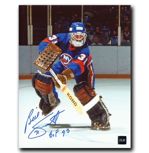 Billy Smith New York Islanders Autographed 8x10 Photo - CoJo Sport Collectables Inc.