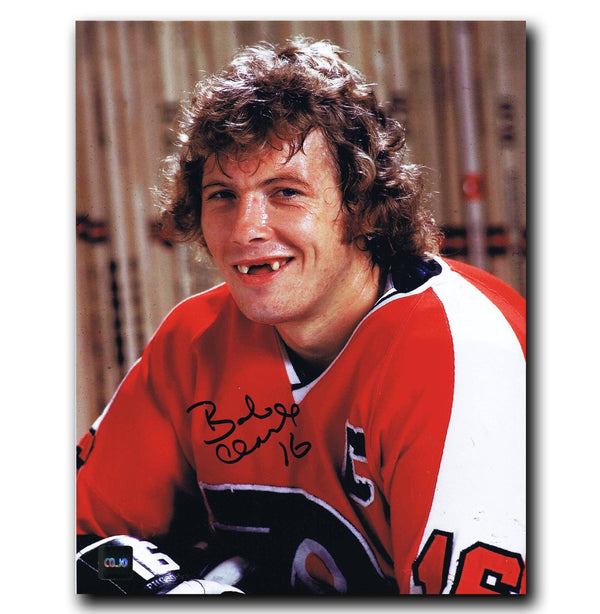 Bobby Clarke Philadelphia Flyers Autographed Close-up 8x10 Photo - CoJo Sport Collectables Inc.