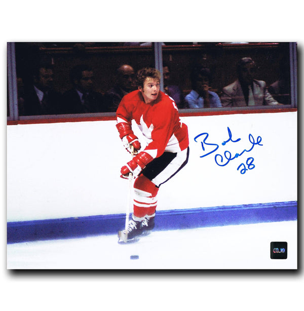 Bobby Clarke Philadelphia Flyers Autographed Team Canada 8x10 Photo Autographed Hockey 8x10 Photos CoJo Sport Collectables
