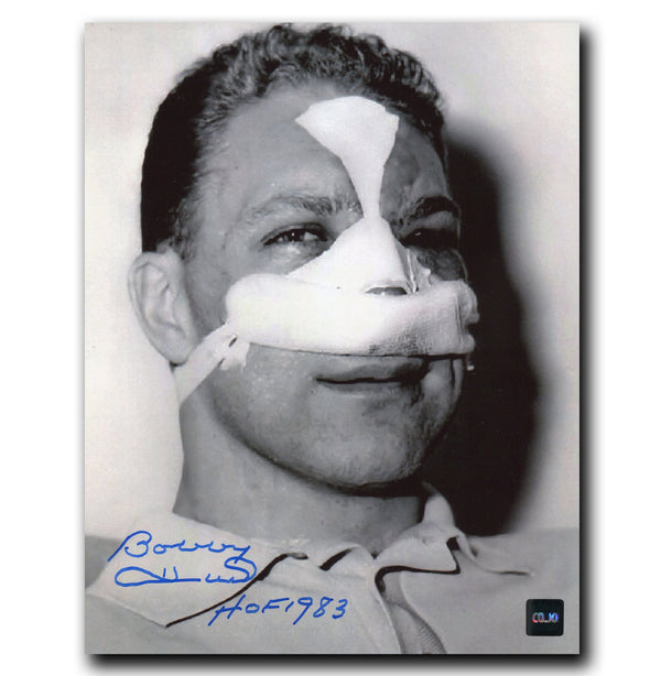 Bobby Hull Chicago Blackhawks Autographed 8x10 Face Photo - CoJo Sport Collectables Inc.