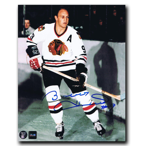 Bobby Hull Chicago Blackhawks Autographed 8x10 Photo Autographed Hockey 8x10 Photos CoJo Sport Collectables