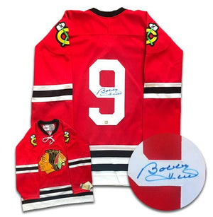 Bobby Hull Chicago Blackhawks Autographed CCM Jersey - CoJo Sport Collectables Inc.