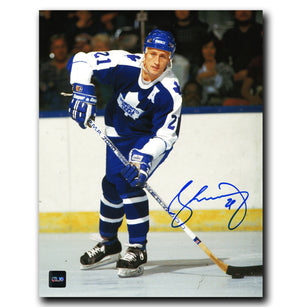 Borje Salming Toronto Maple Leafs Autographed 8x10 Photo - CoJo Sport Collectables Inc.