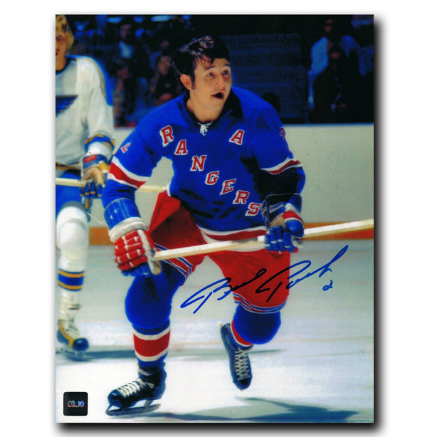 Brad Park New York Rangers Autographed 8x10 Photo - CoJo Sport Collectables Inc.