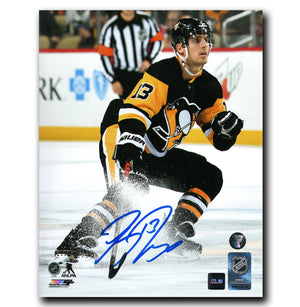 Brandon Tanev Pittsburgh Penguins Autographed Action 8x10 Photo