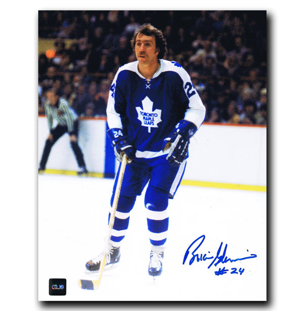 Brian Glennie Toronto Maple Leafs Autographed 8x10 Photo - CoJo Sport Collectables Inc.