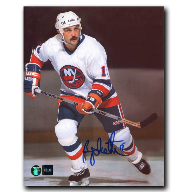 Bryan Trottier New York Islanders Autographed 8x10 Photo - CoJo Sport Collectables Inc.