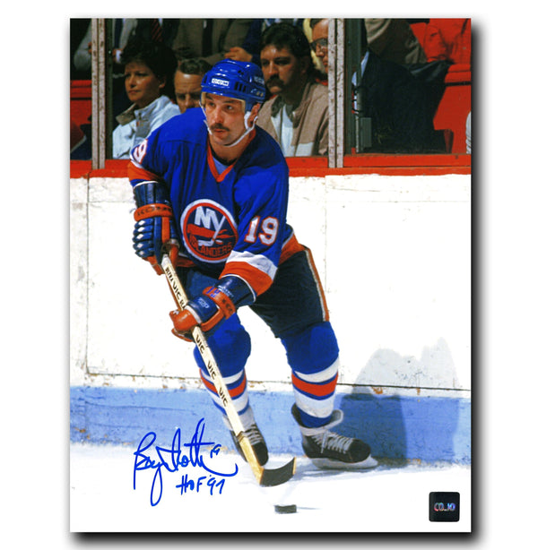 Bryan Trottier New York Islanders Autographed Action 8x10 Photo