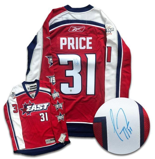 Carey Price 2009 All Star Game Autographed Reebok Jersey - CoJo Sport Collectables Inc.