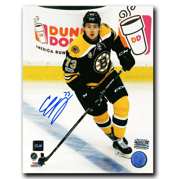 Charlie McAvoy Boston Bruins Autographed 8x10 Photo - CoJo Sport Collectables Inc.