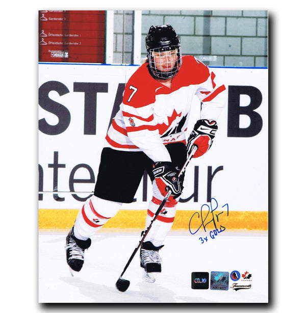 Cherie Piper Team Canada Autographed 8x10 Photo - CoJo Sport Collectables Inc.