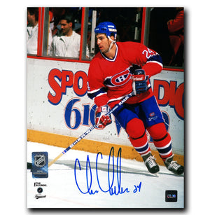 Chris Chelios Montreal Canadiens Autographed 8x10 Photo - CoJo Sport Collectables Inc.