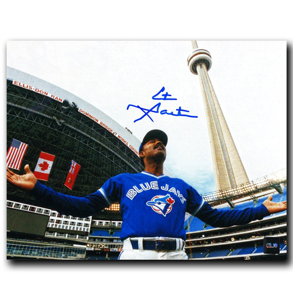 Cito Gaston Toronto Blue Jays Autographed Skydome 8x10 Photo - CoJo Sport Collectables Inc.