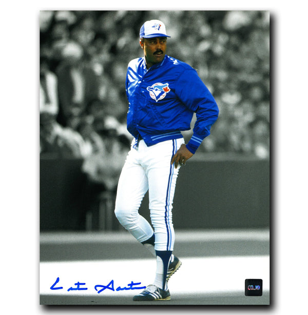 Cito Gaston Toronto Blue Jays Autographed Spotlight 8x10 Photo - CoJo Sport Collectables Inc.
