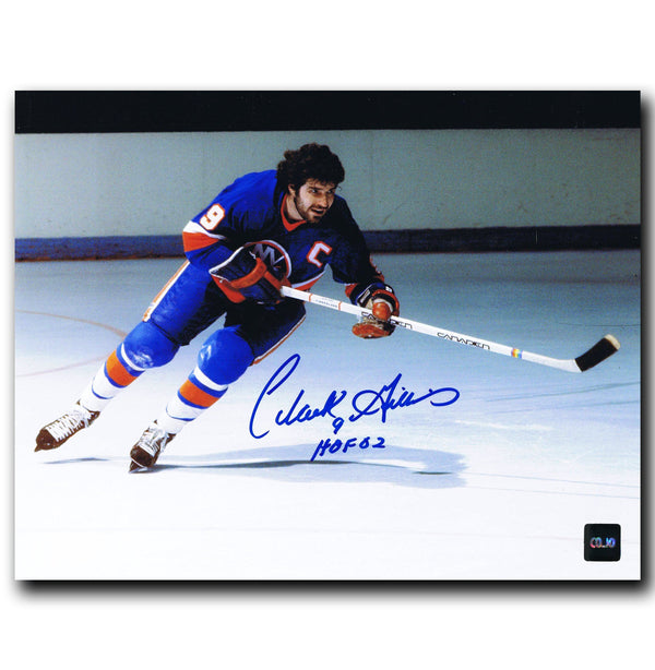 Clark Gillies New York Islanders Autographed 8x10 Photo - CoJo Sport Collectables Inc.