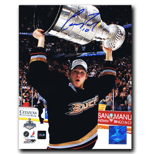 Corey Perry Anaheim Ducks Autographed 8x10 Stanley Cup Photo - CoJo Sport Collectables Inc.