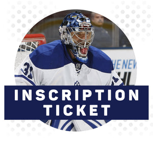(Pre-Order) Curtis Joseph Autograph Inscription Ticket