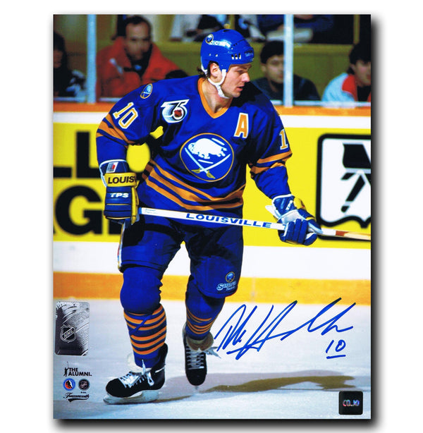 Dale Hawerchuk Buffalo Sabres Autographed 8x10 Photo - CoJo Sport Collectables Inc.