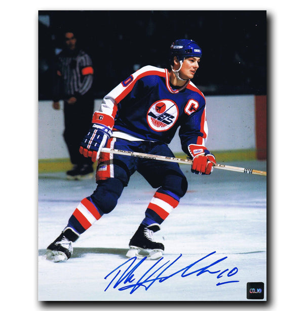 Dale Hawerchuk Winnipeg Jets Autographed 8x10 Photo - CoJo Sport Collectables Inc.