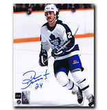 Dan Daoust Toronto Maple Leafs Autographed 8x10 Photo - CoJo Sport Collectables Inc.