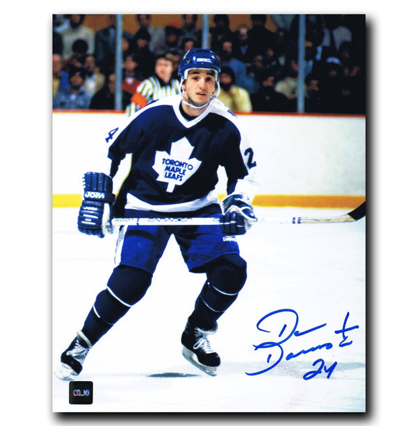 Dan Daoust Toronto Maple Leafs Autographed 8x10 Photo Autographed Hockey 8x10 Photos CoJo Sport Collectables