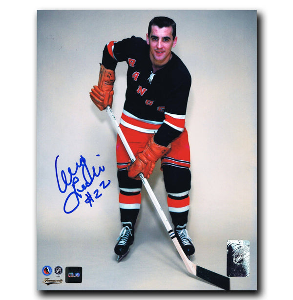 Danny Lewicki New York Rangers Autographed 8x10 Photo - CoJo Sport Collectables Inc.