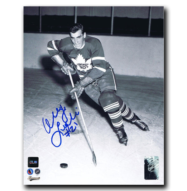 Danny Lewicki Toronto Maple Leafs Autographed 8x10 Photo Autographed Hockey 8x10 Photos CoJo Sport Collectables