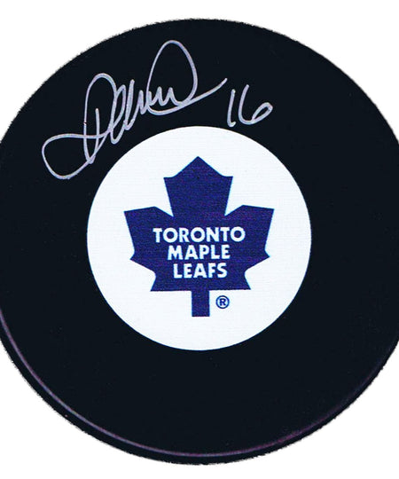 Darcy Tucker Autographed Toronto Maple Leafs Puck - CoJo Sport Collectables Inc.