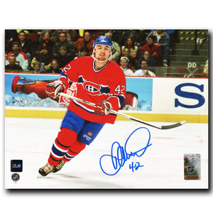 Darcy Tucker Montreal Canadiens Autographed 8x10 Photo - CoJo Sport Collectables Inc.