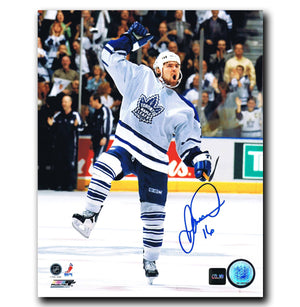 Darcy Tucker Toronto Maple Leafs Autographed 8x10 Photo - CoJo Sport Collectables Inc.