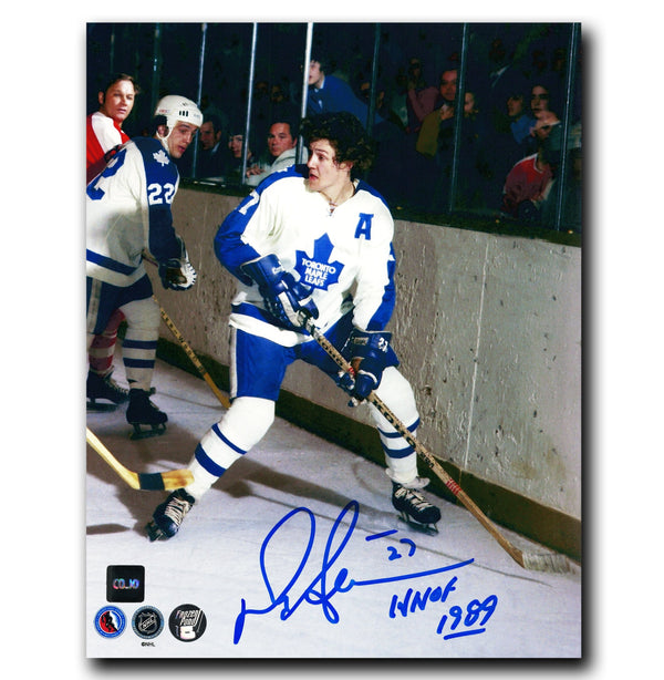 Darryl Sittler Toronto Maple Leafs Autographed HOF 8x10 Photo - CoJo Sport Collectables Inc.