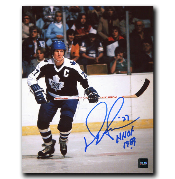 Darryl Sittler Toronto Maple Leafs Autographed 8x10 Photo - CoJo Sport Collectables Inc.