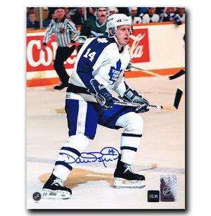 Dave Reid Toronto Maple Leafs Autographed 8x10 Photo Autographed Hockey 8x10 Photos CoJo Sport Collectables
