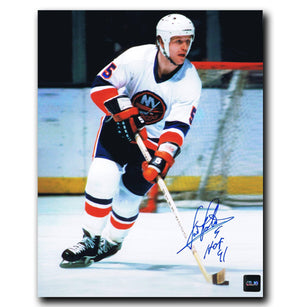 Denis Potvin New York Islanders Autographed 8x10 Photo - CoJo Sport Collectables Inc.