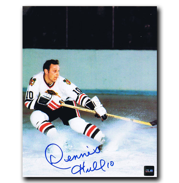 Dennis Hull Chicago Blackhawks Autographed 8x10 Photo Autographed Hockey 8x10 Photos CoJo Sport Collectables