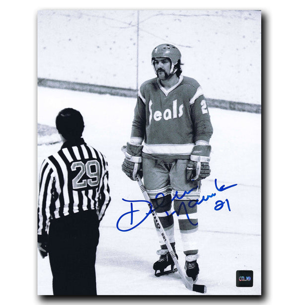 Dennis Maruk California Golden Seals Autographed 8x10 Photo Autographed Hockey 8x10 Photos CoJo Sport Collectables