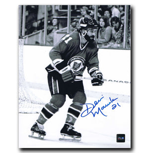 Dennis Maruk Cleveland Barons Autographed 8x10 Photo Autographed Hockey 8x10 Photos CoJo Sport Collectables