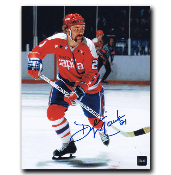Dennis Maruk Washington Capitals Autographed 8x10 Photo - CoJo Sport Collectables Inc.
