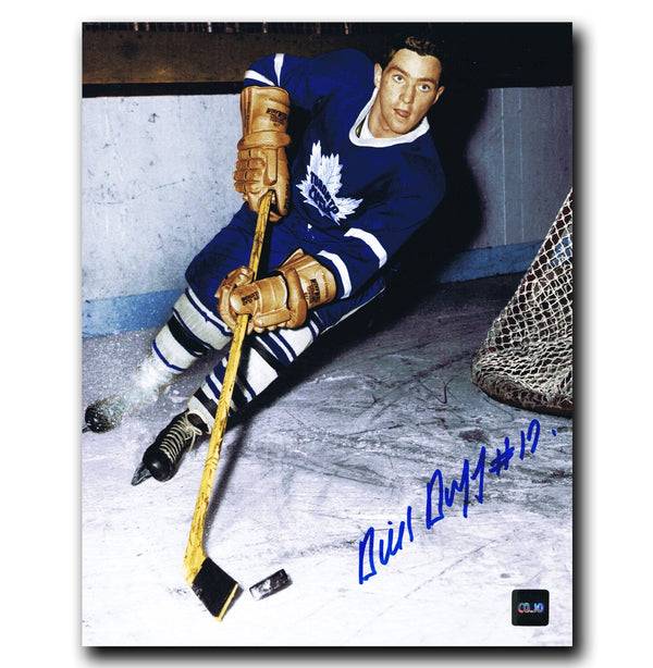 Dick Duff Toronto Maple Leafs Autographed 8x10 Photo Autographed Hockey 8x10 Photos CoJo Sport Collectables