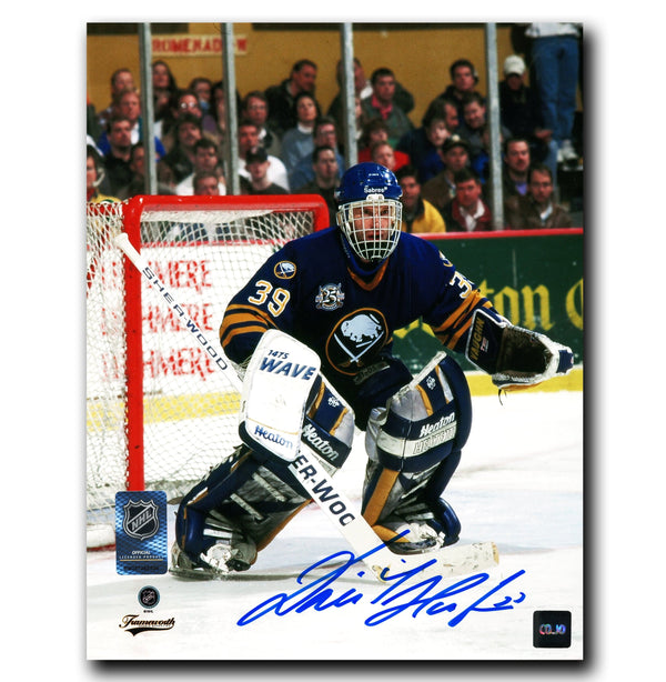Dominik Hasek Buffalo Sabres Autographed 25th Anniversary 8x10 Photo - CoJo Sport Collectables Inc.