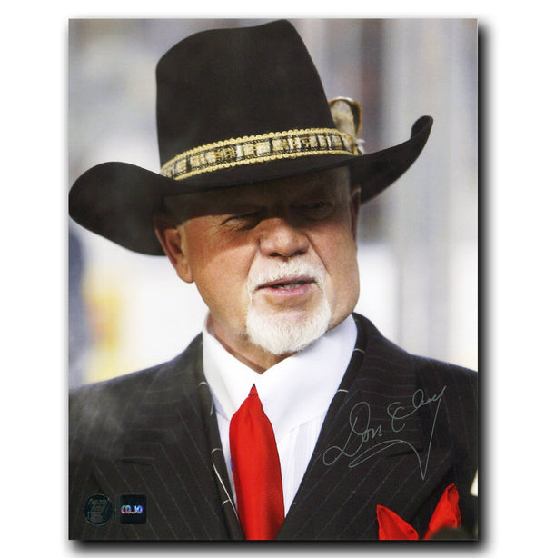 Don Cherry Coachs Corner Autographed 8x10 Photo Autographed Hockey 8x10 Photos CoJo Sport Collectables