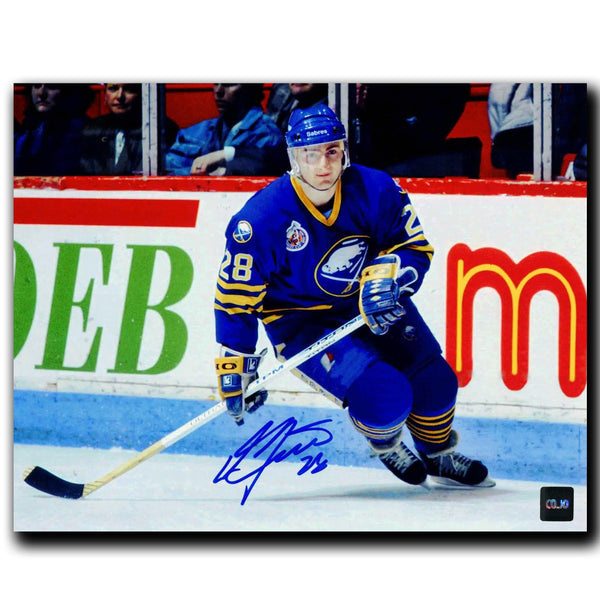 Donald Audette Buffalo Sabres Autographed 8x10 Photo