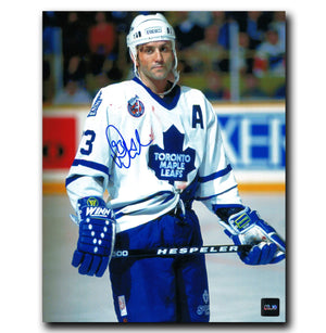 Doug Gilmour Toronto Maple Leafs Autographed Blood 8x10 Photo - CoJo Sport Collectables Inc.