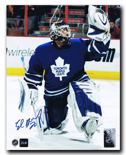 Ed Belfour Toronto Maple Leafs Autographed 8x10 Photo - CoJo Sport Collectables Inc.
